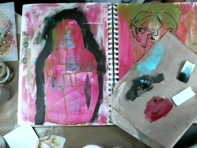 Art Journal #13 - How to make your own stencils