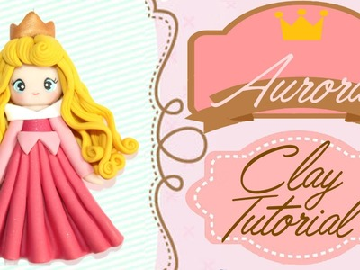 Aurora Sleeping Beauty Chibi   Polymer Clay Tutorial