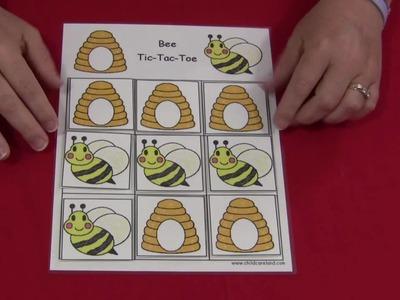 Bee Tic-Tac-Toe Game