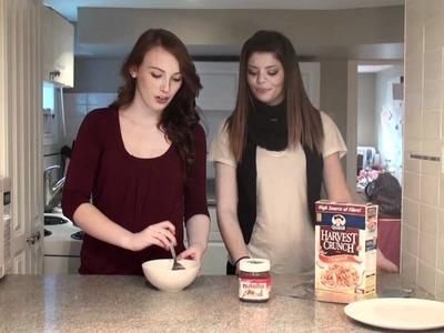EASY SNACK FOOD: NUTELLA MACAROONS