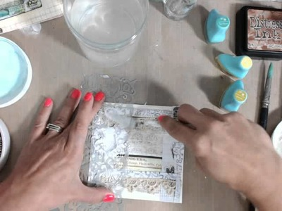 Everyday Vintage Mixed Media Cards with Limor on Live with P
