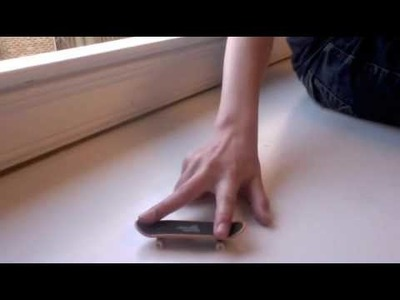 Fingerboard Tutorial (How to use a finger skateboard)