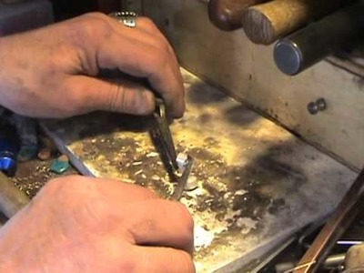 Full how to silversmithing lesson, sterling necklace from carved antler