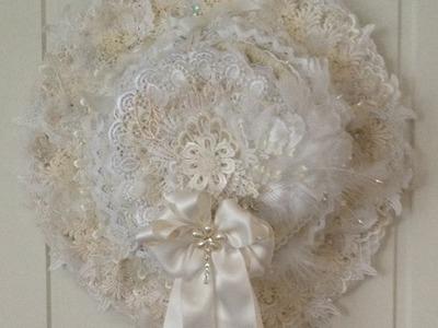 Graphic 45 Couture lace hat photo album