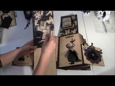 Graphic 45 Curtain Call photo album part 2