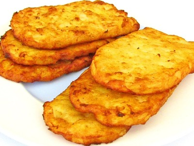Hash Browns - How To Make Fast Food Style Hash Browns - Recipe