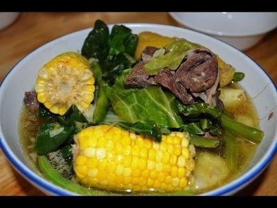 How to Cook Beef Nilaga Filipino Recipe | Nilagang Baka (Beef Soup) Lutong Pinoy