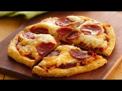 How to: Easy & Fast Mini Pizzas