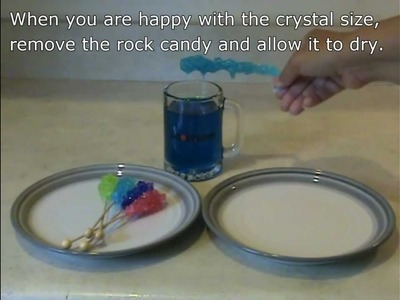 How to Grow Rock Candy or Sugar Crystals