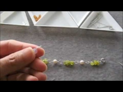 How-to Lesson - Spring bracelet for girls