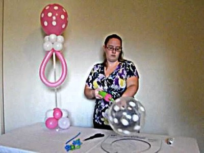 How to Make a Balloon Baby Rattle