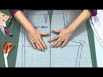 How to Make a Fish Eye Dart in Pants Back with Sure-Fit Designs