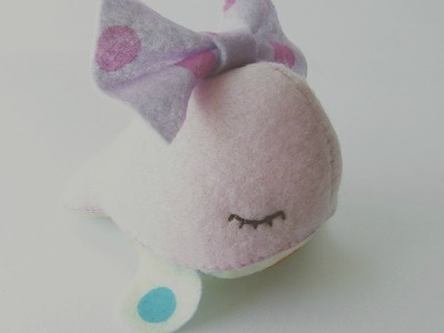 How To Make A Kawaii Whale Plushie Tutorial