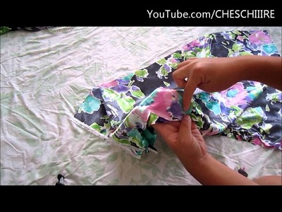 How to make a Scallop-Hemmed Skirt