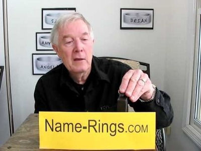 How to Make and Sell Name Rings