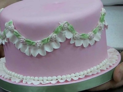 How to make Fondant Ruffles with a Garret Frill Cutter