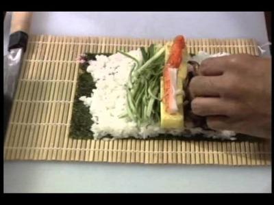 HOW TO MAKE FUTOMAKI