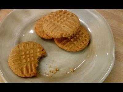 How to Make Peanut Butter Cookies - Recipe by Laura Vitale - Laura in the Kitchen Ep 114