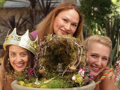 How to Make Your First Fairy Garden and Miniature Garden!