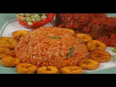 How To Prepare Jollof Rice (Ghana Style)