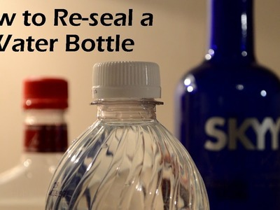 How to Re-seal a Water Bottle