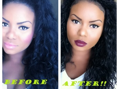 HOW TO REVIVE SYNTHETIC HAIR! [CURLY HAIR]