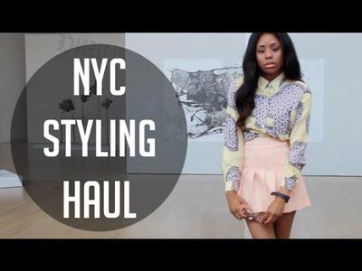 ◑ Huge NYC Haul. Styling [AA, UO, American Two Shot] ◑