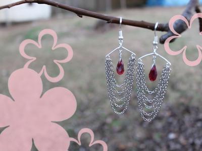 MeiIris' Waterfall Earrings