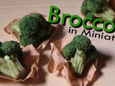 Miniature Broccoli - Polymer Clay Tutorial
