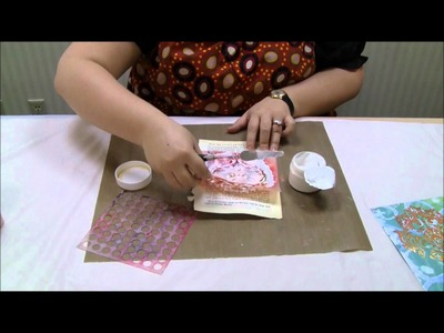 Mixed Media in Minutes: Working with Molding Paste with Julie Fei-Fan Balzer.wmv