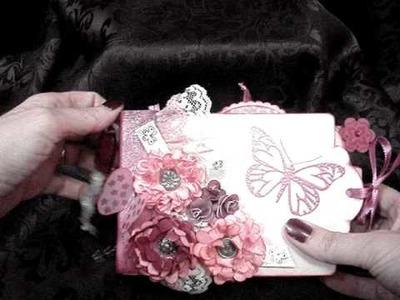 My mini, mini paper bag album