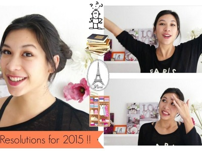 My New Year Resolutions for 2015 ! - Money, books, youtube, minimalism and languages