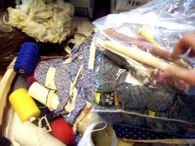 Nancy Today: Free LeClerc Floor loom (weaving 59) ASMR weaving basketmaking hacer cesta
