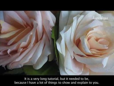 Paper Roses- Roses en papier