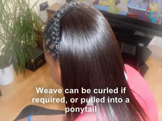 Partial sew in Weave Tutorial with Diagonal braiding
