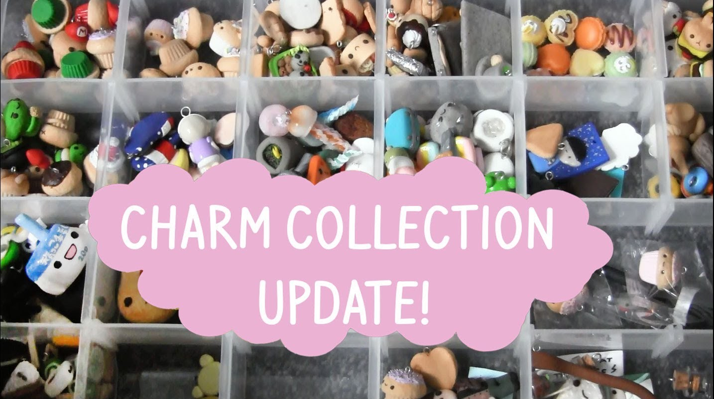 ♡ Polymer Clay Charm Collection Update ♡