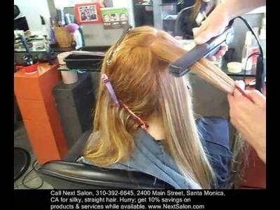 Santa Monica Japanese Hair Straightening | Straightener