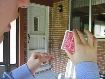 Sense of Touch Card Trick Revealed by LearnMagicTricks.org