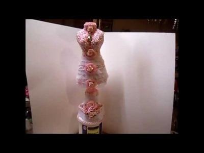 Shabby Chic Dressform Tutorial, Part 2 - jennings644