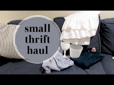 Small Thrift Haul