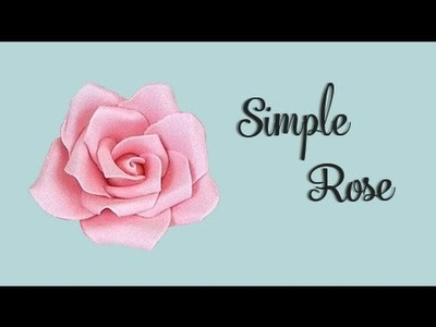 Sugar  Rose Tutorial - CAKE STYLE