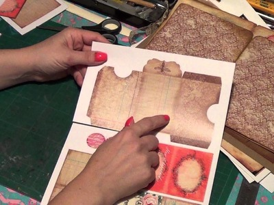 Vintage Printable Journal Kit