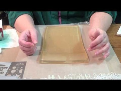 WCYDW Homemade Gelli plate~ with Tammy