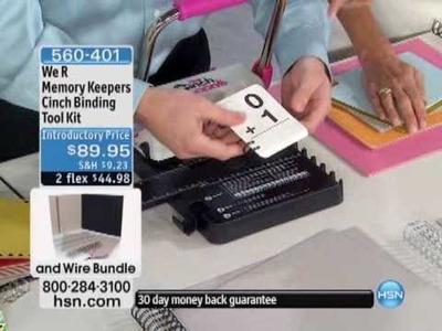 We R Memory Keepers Cinch Binding Tool Kit