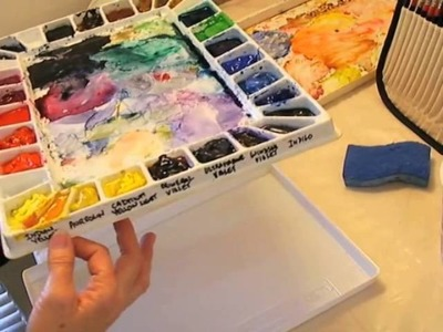 03 Setting Up Your Watercolor Palette
