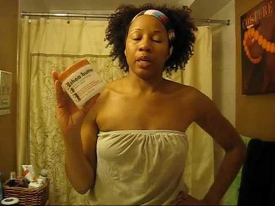 #8 Product Revisited : Cantu Shea butter Leave in conditioning repair cream -Application and Review
