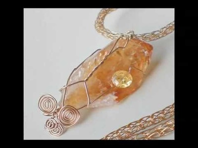 Birthday And  Anniversary Gift Ideas , Handmade Citrine Jewelry for November