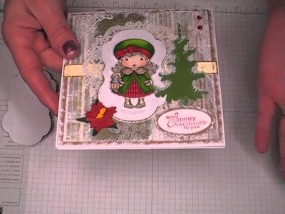 Christmas Lantern Marci Card-Process and Coloring Idea