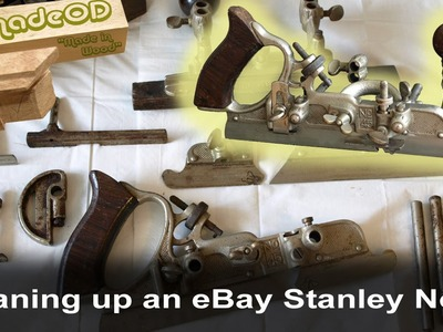 Cleaning Up An eBay Stanley No.45 Combination Plane