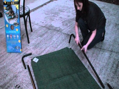 Coolaroo Pet Bed Installation Video